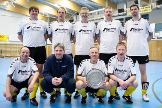 Mannschaftsfoto Kreismeister 2012