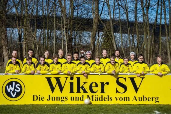 Mannschaftsfoto 2. Herren 2014/2015