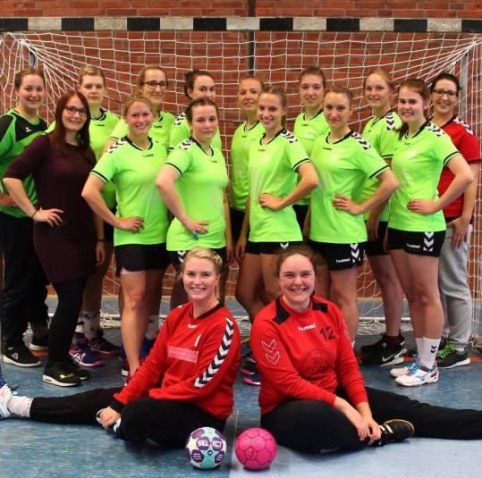 Foto: 2. Handballdamen